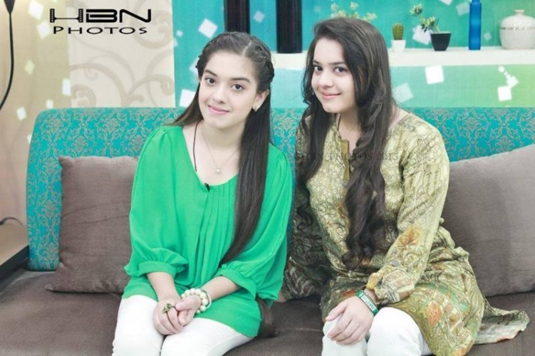 Sara Razi And Arisha Razi Together