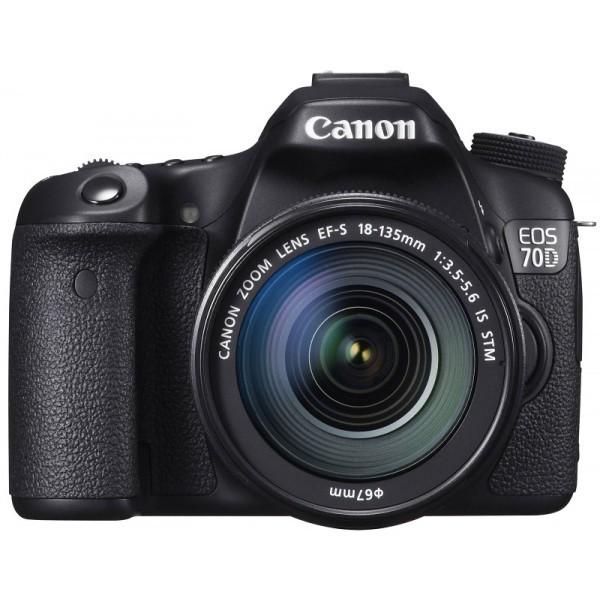 Canon 70D 18-135mm Camera