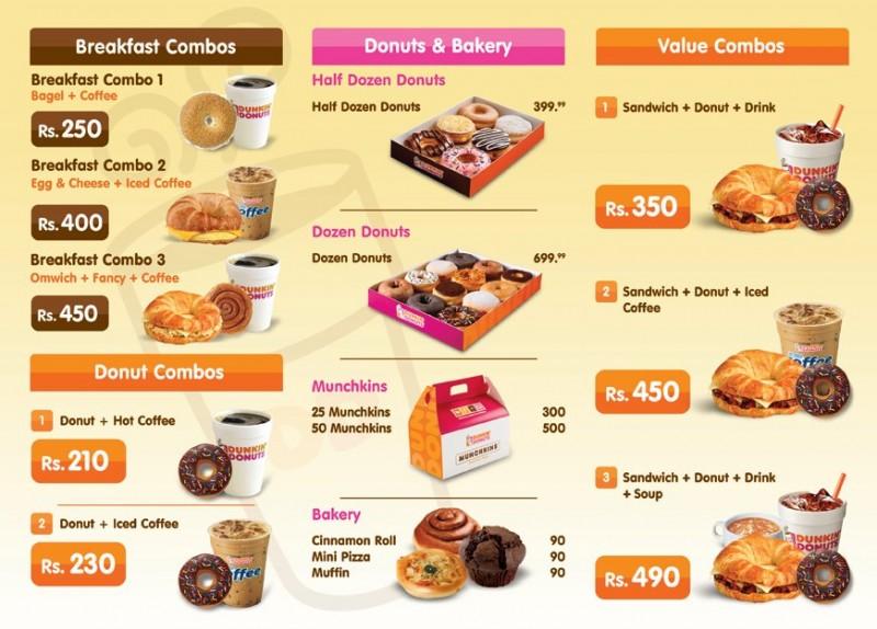 Dunkin Donuts Khayaban E Rahat Restaurant In Karachi