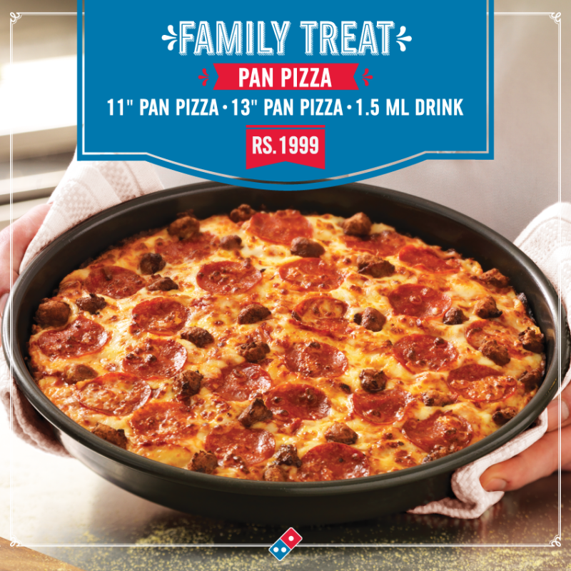 Domino's Pizza M M Alam Road Restaurant in Lahore - Menu ...
