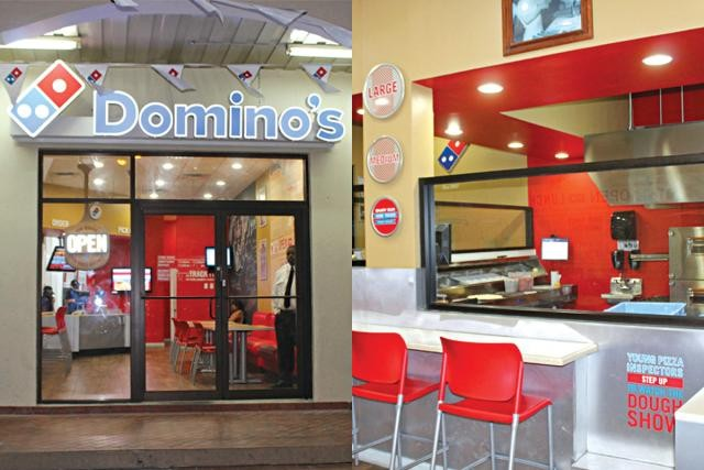 Domino S Pizza M M Alam Road Restaurant In Lahore Menu