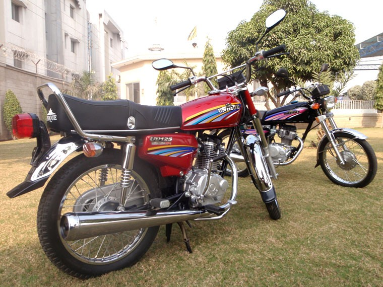 Unique 125cc Motorcycle Price In Pakistan Specification Review