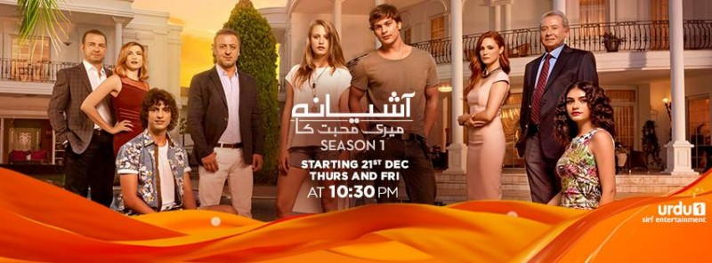 Aashiyana Meri Mohabbat Ka 3 Urdu 1 Drama, Cast, Timings