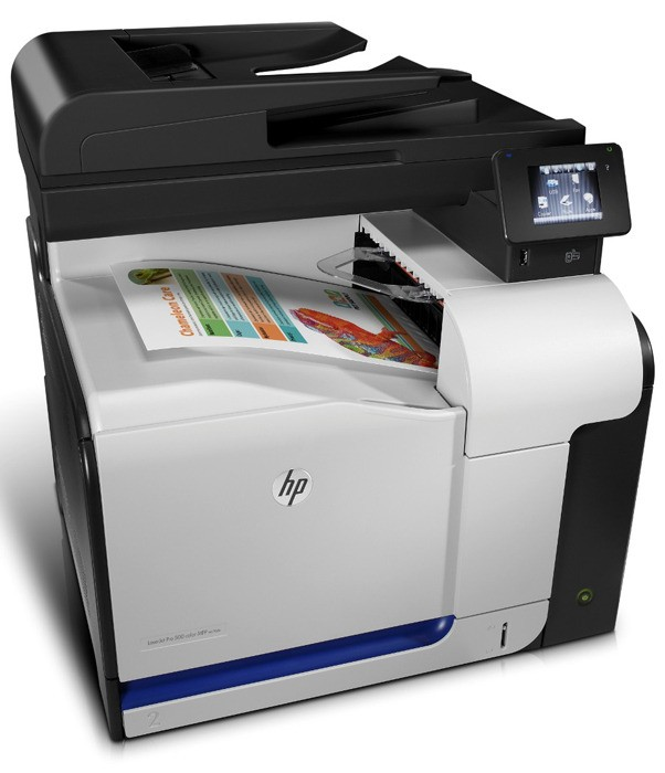 HP M570dw All-in-one Color Laser Printer - Complete Specifications