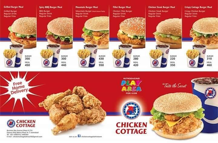 Chicken Cottage Restaurant In Bahria Town Rawalpindi