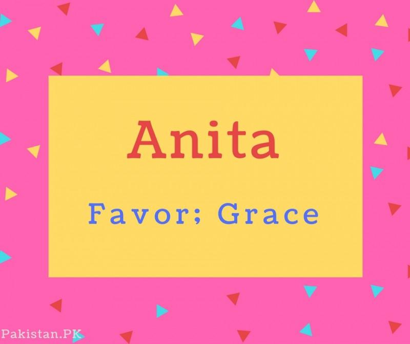 38+ Anita meaning in urdu info
