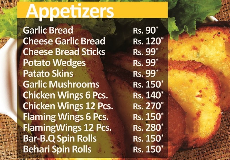 Pizza Track Restaurant in Latifabad Hyderabad - Menu ...