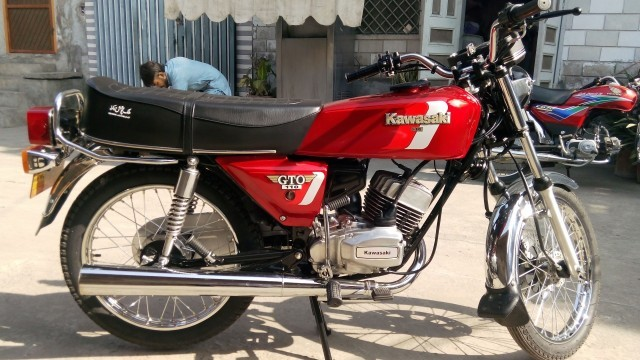 Kawasaki Gto  New Model Pakistan