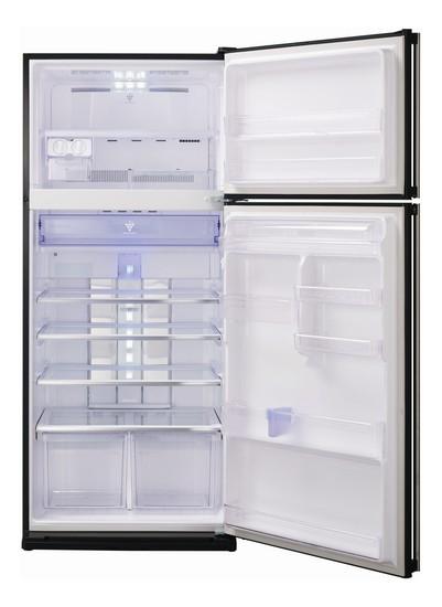 Sharp Sj Gc700vbk Double Door Refrigerator Price In