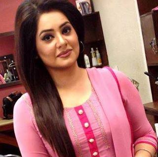 Gorgeous Iqra Haris In Pink Dress
