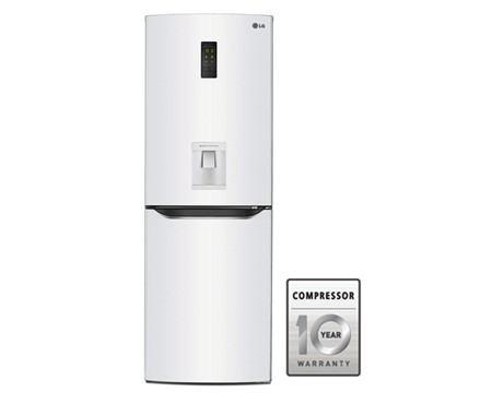Lg Gr F419svqk Bottom Freezer Double Door Refrigerator