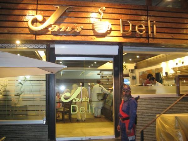 Jans Deli Restaurant In University Road Peshawar Menu
