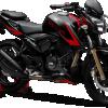 TVS Apache RTR 200 4V-black