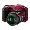 Nikon Coolpix L820 mm Camera Red model view