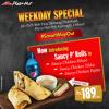 Pizza Hut Weekday Deal 1