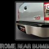 Toyota Hilux Vigo Champ Grade G Chrome rear bumber