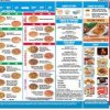 Domino's Pizza Menu Card