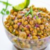 Sweet and Sour Chickpea Chaat Recipe Complete Preparation Method