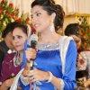 Smart Sehrish Mansoor in Blue dress 002