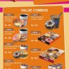 Dunkin Donuts Menu Card