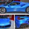 Ferrari 488 Spider - blue