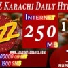 Jazz Karachi Daily Hybrid Package (For Khi Only)