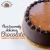 Pie in the Sky Chocolate Cramel Cake