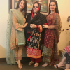 Aiman Khan And Minal Khan With Her Mother