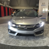 Honda Civic 4-Door Manual LX Front Look