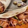 Doner Kabab Lamacun Sandwich