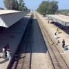 Tando Jam Railway Station Tracks
