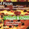 pizza track beef and veggie pizza menu