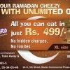 La Pizzaro Ramadan Offer