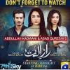 Raaz e Ulfat - Complete Drama Information