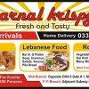Karnal Krispy menu 1