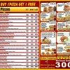 Pizza Express Menu Card 1