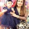 Beautiful Sadia Imam With Her Cute Daughter