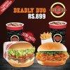 Fatburger Deadly Duo Deal