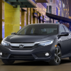 Honda Civic 1.5L Turbo 2016 Grey Color