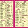 Karachi Bar BQ Menu Card 1