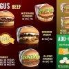 Fatburger Menu Card 1