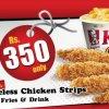 KFC Chicken Strips Deal
