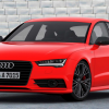 Audi A7 2016 Red