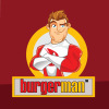 Burger Man Logo