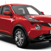 Nissan Juke - red