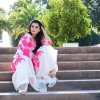 Hot Nida Yasir In Pink Dress