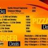 Burger Man Deals