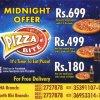 Pizza Bite Midnight Offer