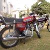 Unique 125cc Bike Side model look