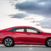 Honda Civic 1.5L Turbo 2016 Red Side View